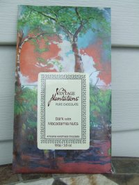 Vintage Plantations 75% Dark Chocolate Bar with Macadamia Nuts (100g) - 5 pack